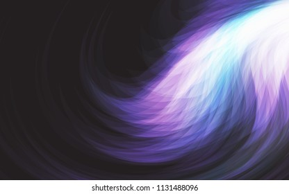Neon Glowing background wave, magical light with energy and motion background vector design.