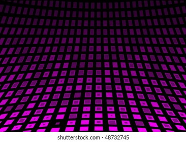 Neon pink techno background