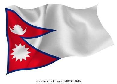 Nepal flag flag