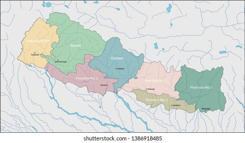 Nepal is a landlocked country in South Asia