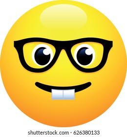 Nerd Face Emoji
