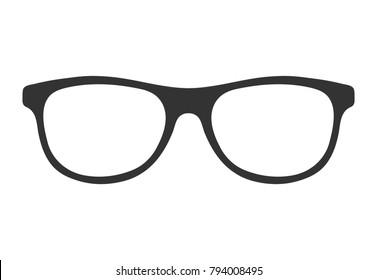 Nerd glasses icon