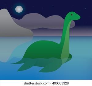 Loch Ness Monster Images Stock Photos Vectors Shutterstock
