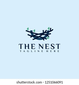 The nest creative logo