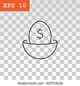 Nest egg icon