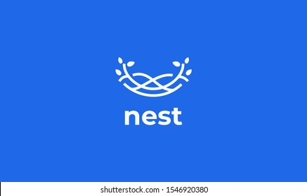 nest logo design for your projects