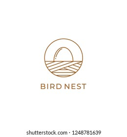 Nest Logo Vector Template