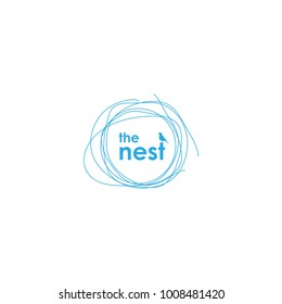 The Nest logotype
