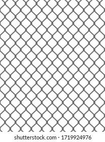 Net fence illustration seamless pattern vector