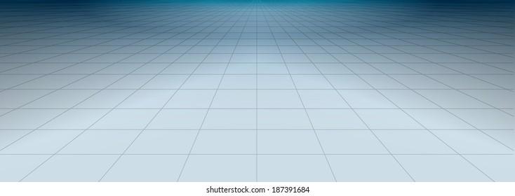 net glossy floor