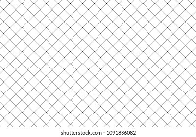 Net pattern isolated on white background. For web site,poster,placard,backdrop and wallpaper. Creative art concept, vector illustration, eps 10