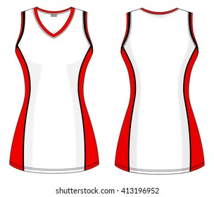 Netball and backetball dress