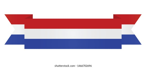 Netherlands  flag. Simple vector Netherlands  flag