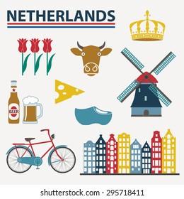 Netherlands Holland Windmill Dutch Netherlandish Car Decal Sticker