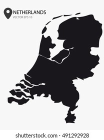 Netherlands vector illustration