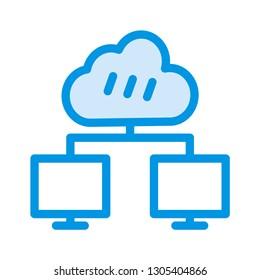 network   cloud   server