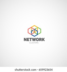 Network Clusters logo.