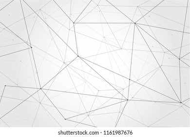 Network connection isolated on gray background. For web site, wallpaper, poster, placard, ad, cover and print materials. Creative art, modern abstract concept. Vector illustration network