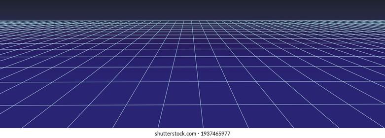 Network connection structure. Technological black background. Big data visualization. Vector illustration.