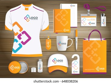 Gift items images stock photos vectors shutterstock network gift items color promotional souvenirs design for link corporate identity with technology lines negle Gallery
