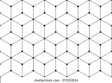 Network grid pattern