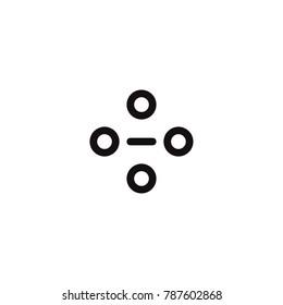 network icon. sign design