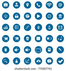 Network Icons Set. Vector Illustration, Graphic Design. For Web, Websites,Apps, Print