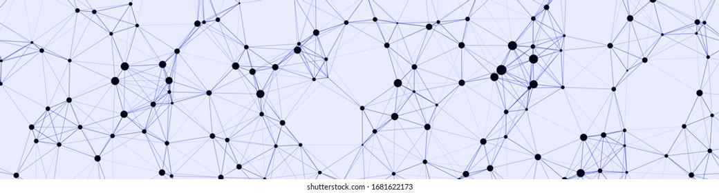 Network Mesh Computation Kunsthintergrund