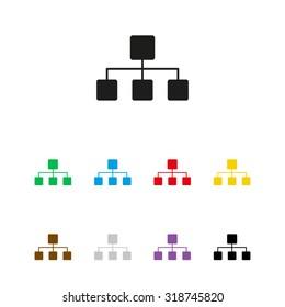 Network  - vector icon