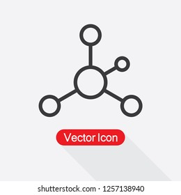 Networking Icon Vector Illustration Eps10
