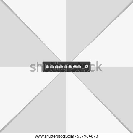 Networking Switch Router Icon Stock Vector (Royalty Free