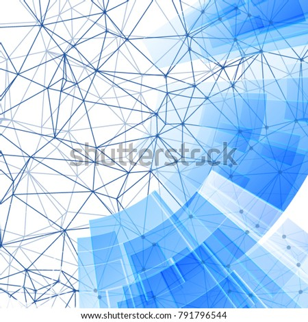 Networking Technological Business Advertisement Background