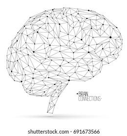 Neural networks vector illustration.