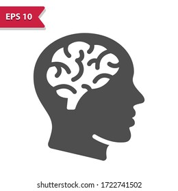 Neurology Icon. Professional, pixel perfect icon, EPS 10 format.
