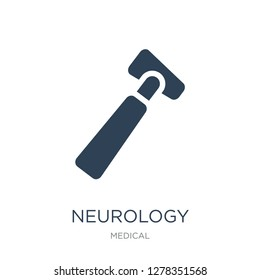 neurology reflex hammer icon vector on white background, neurology reflex hammer trendy filled icons from Medical collection, neurology reflex hammer vector illustration