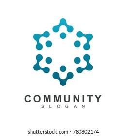 Neuron Group logo, Molecular icon