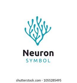 Neuron / Seaweed logo design inspiration