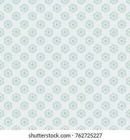 Neutral, gray and black vector illustration. Floral illusion seamless pattern.