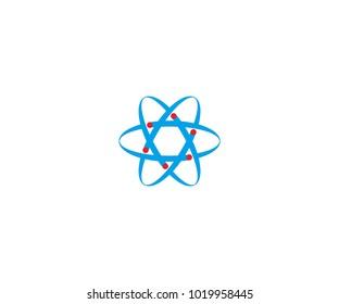 neutron logo, molecule logo, smart logo