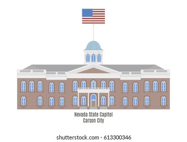 Nevada State Capitol in Carson City, United States of America