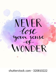 Quote On Watercolor Background Images Stock Photos Vectors Shutterstock