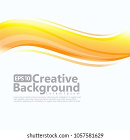 new abstract wave creative background