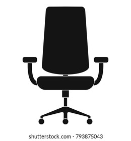 New armchair icon. Simple illustration of new armchair vector icon for web.
