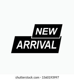 New Arrival Emblem or Sticker. Tag or Banner Illustration As A Simple Vector Sign & Trendy Symbol for Design and Sport Websites, Presentation or Application.