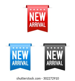 New Arrival Labels