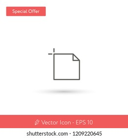 New Artboard vector icon. Modern, simple, isolated, flat best quality icon for web site designs or mobile apps. Vector illustration EPS 10.