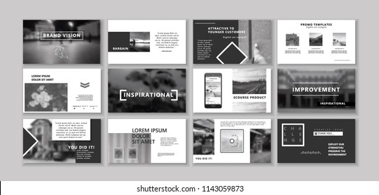 portfolio design images, stock photos & vectors | shutterstock, Screen Printing Company Presentation Portfolio Template, Presentation templates