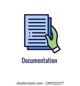 New Business Process Icon - Documentation phase
