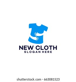 New Cloth Modern Logo template designs