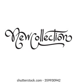 new collection hand lettering handmade calligraphy